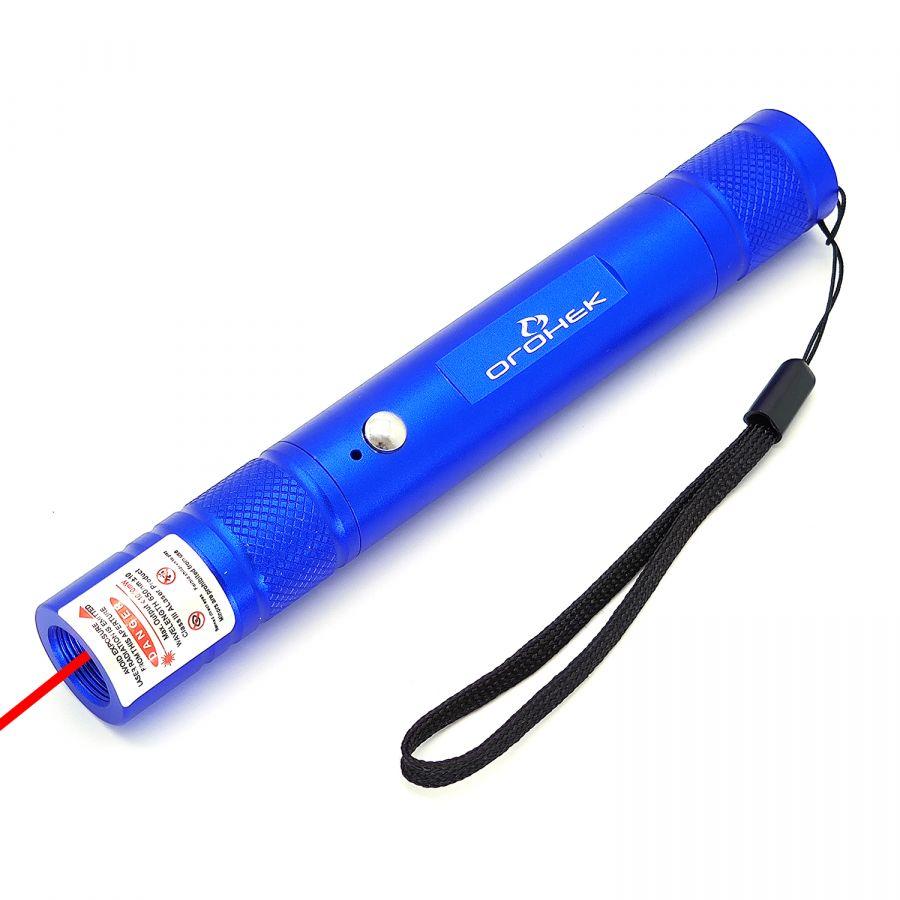Огонек OG-LDS25 Синий ручной лазер (красный)