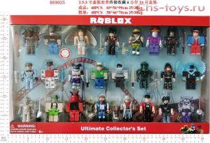 ROBLOX коллекционный набор 869025 Роблокс Ultimate Collectors Set 24 фигурки