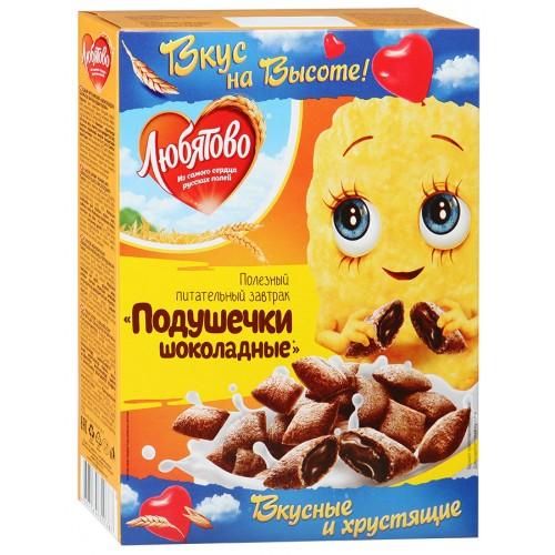 Подушечки Любятово Шоколадные 250г