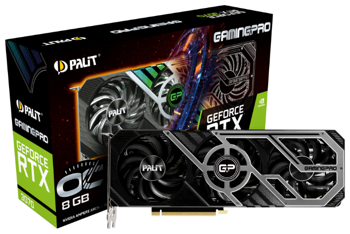 Palit GeForce RTX 3070 8192MB GamingPro OC