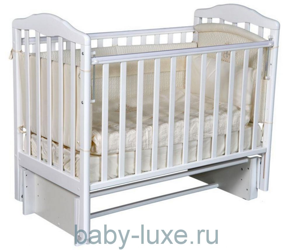 Кроватка детская Alita-3/5 маятник/без ящика