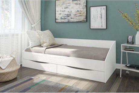 """Кровать с 2 ящиками """"Классика"""""""