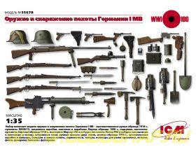 Вооружение и снаряжение Германской пехоты 1МВ