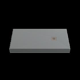 Душевой поддон BAS Essentia 100x80, графит