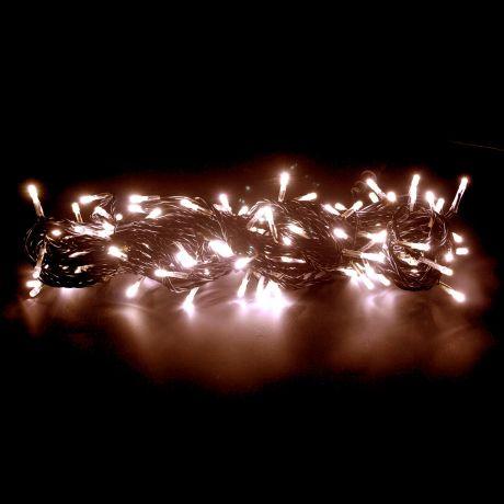 Гирлянда (20м, 133 тепло-белых мерцающих светодиода)