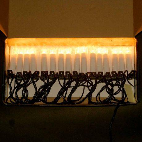 Гирлянда Свечи на прищепках, 3м