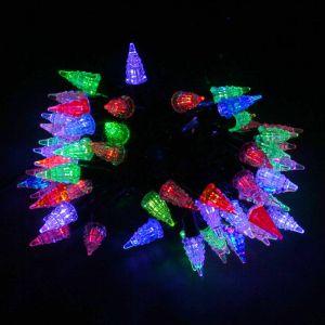 Гирлянда Ёлочки (красно-сине-зелёные, 72 светодиода, 8м)