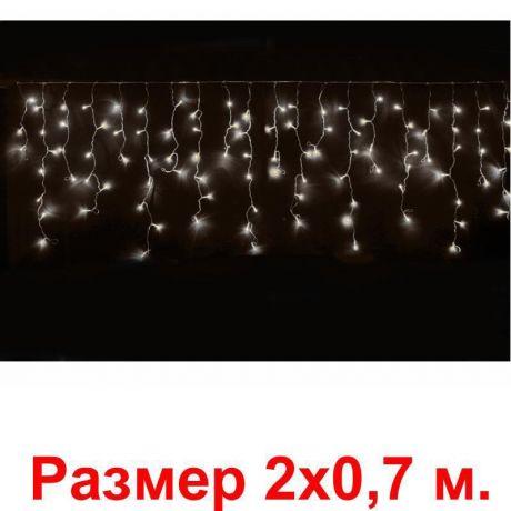 Гирлянда Нити , 100 тёплых белых светодиодов