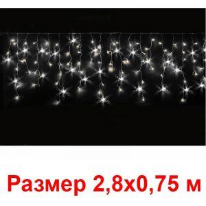 Гирлянда-нити (96 холодно-белых мерцающих светодиодов, IP20)