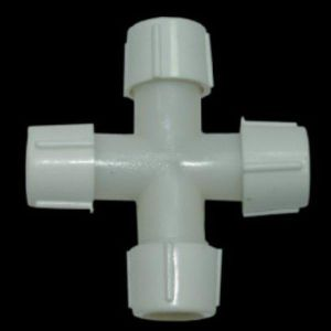 Коннектор крестовой для LED 11мм