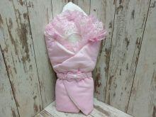 МАМИН МАЛЫШ - Комплект на выписку 5-KM004-KP /02174-2/ розовый с мехом