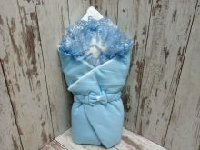 МАМИН МАЛЫШ - Комплект на выписку голубой с мехом 5-KM004-KP / 02174-3