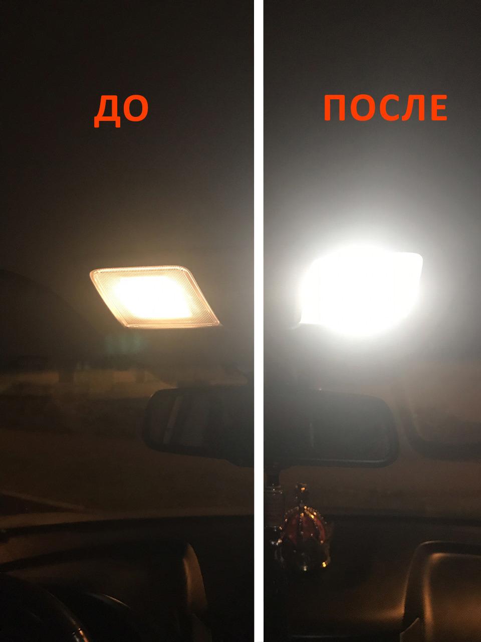 Светодиодное освещение салона KIA CERATO III 2013-2020