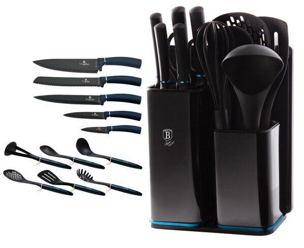 Набор ножей на подставке 12 пр.  BERLINGER HAUS,BH-2547