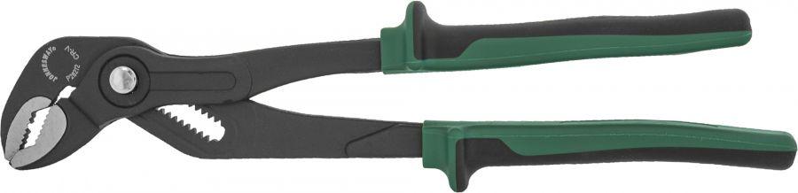 P28212 Клещи переставные с реечной регулировкой и коробчатым захватом, двухкомпонентные рукоятки, 300 мм