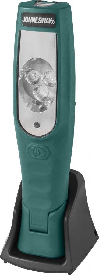 JAZ-0070B Лампа переносная светодиодная на гибком магнитном основании, зарядка 12-220 v