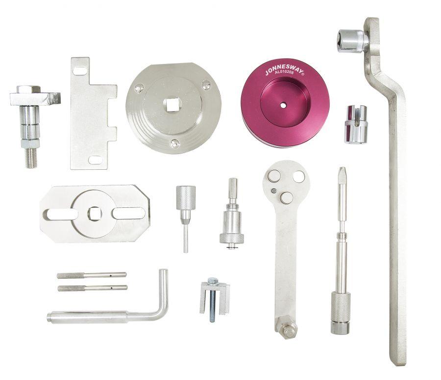 AL010208 Набор приспособлений для установки фаз ГРМ двигателей коммерческих а/м FIAT / IVECO / FORD