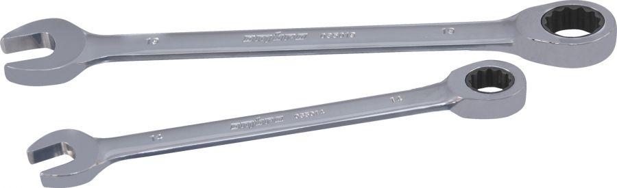 035008 Ключ гаечный комбинированный трещоточный SNAP GEAR, 8 мм