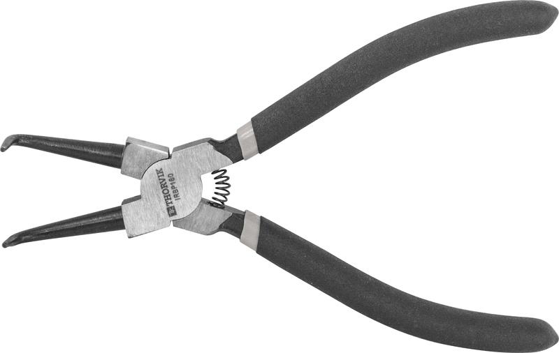 IRBP180 Щипцы для стопорных колец «загнутый сжим», 180 мм
