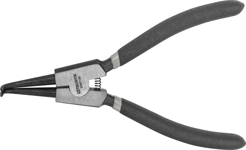 ERBP180 Щипцы для стопорных колец «загнутый разжим», 180 мм