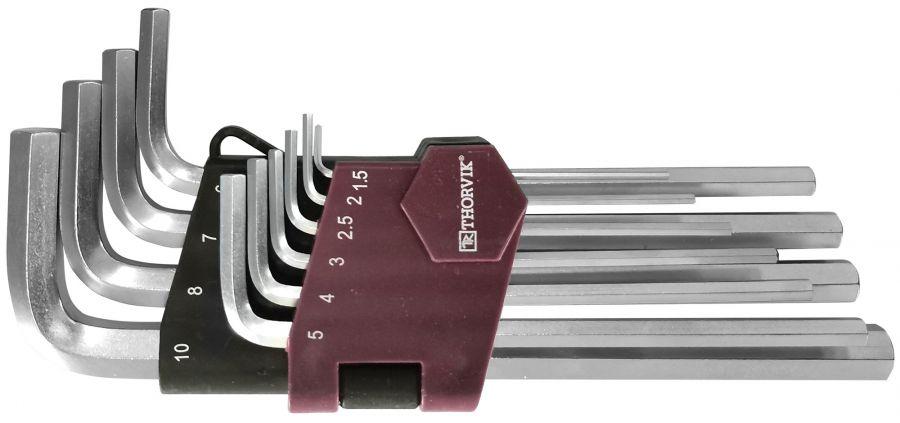 HK10S Набор ключей торцевых шестигранных, H1.5-H10, 10 предметов