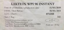 Изолят сывороточного белка 90% Laktein- instant (Франция)