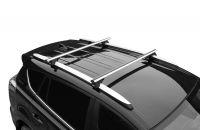 Багажник на рейлинги Lux Классик с аэродинамическими дугами (53 мм)