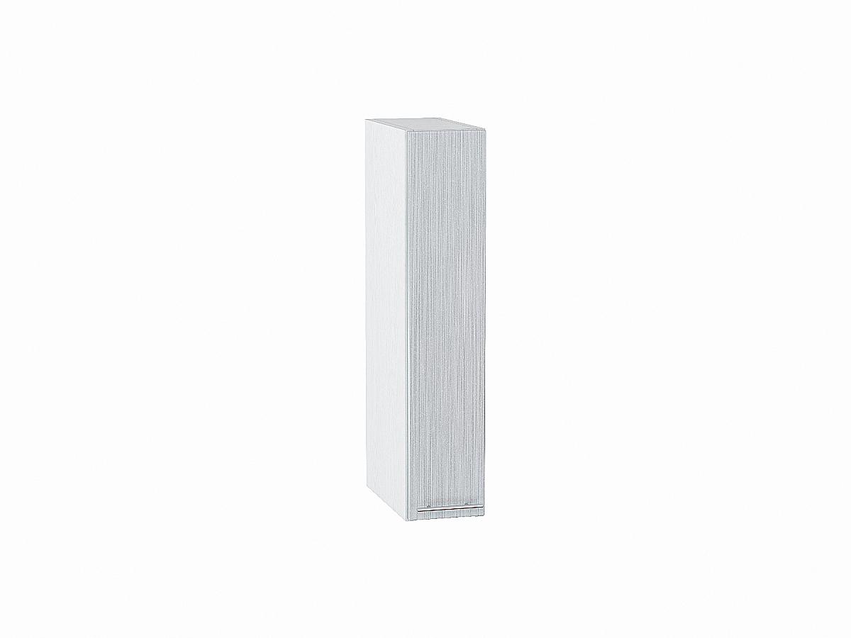 Шкаф верхний бутылочница Валерия ВБ150 (серый металлик дождь)