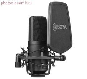 BY-M800 Широкомембранный кардиоидный конденсаторный микрофон