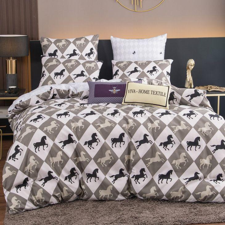 Комплект постельного белья Сатин Модное CL107