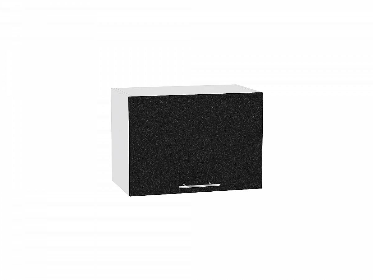 Шкаф верхний Валерия ВГ500 (чёрный металлик дождь)