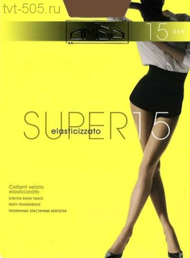 Колготки OMSA Super 15d c шортиками арт.106