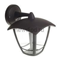 Светильник Luazon 02A-2, садово-парковый, 8 Вт, 640 Лм, четырехгранник, вниз, черный