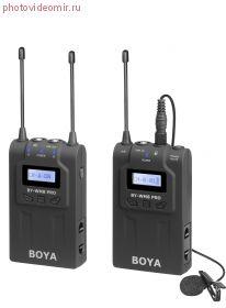 BY-WM8 Pro-K1 Усовершенствованная двухканальная УКВ беспроводная микрофонная система