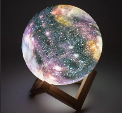 Шар ночник галактика
