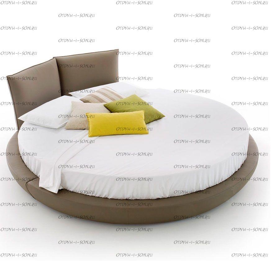 Круглая кровать Солей Амстердам 1028 (б/о)