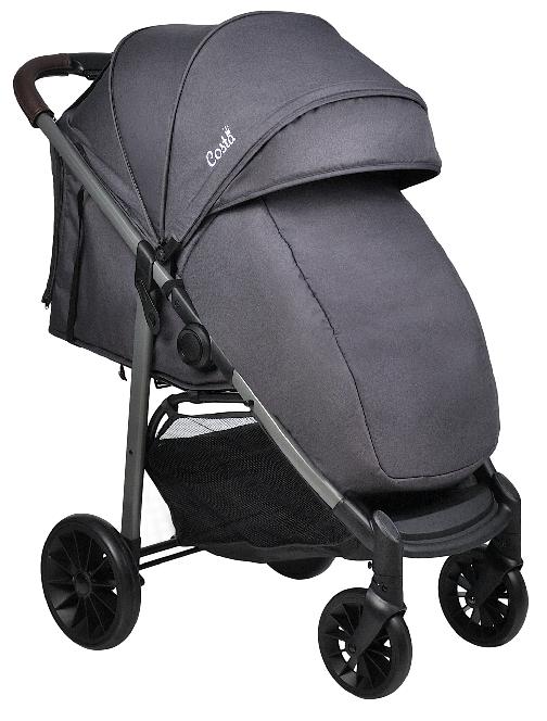 Прогулочная коляска COSTA Jenny Plus + Steel Grey / Темно-серый