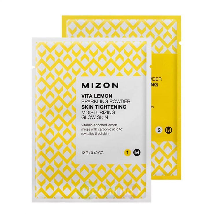 Маска для лица порошковая с лимоном - Mizon Vita Lemon Sparkling Powder