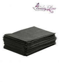 Простыни одноразовые - 80/200, плотность - 20; --- 20 штук, чёрные