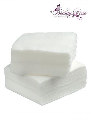 Салфетки одноразовые белые  Размер -  10/10, Плотность - 40; --- 100 штук