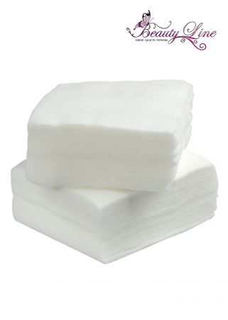 Салфетки одноразовые белые  Размер -  5/5, Плотность - 40; --- 100 штук
