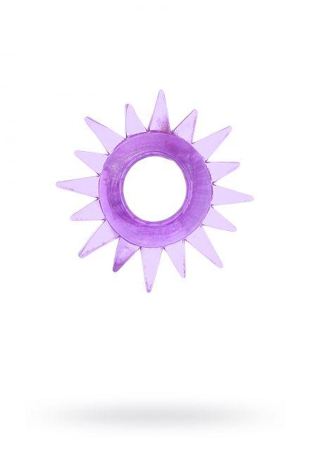 Эрекционное кольцо TOYFA, TPE, фиолетовый