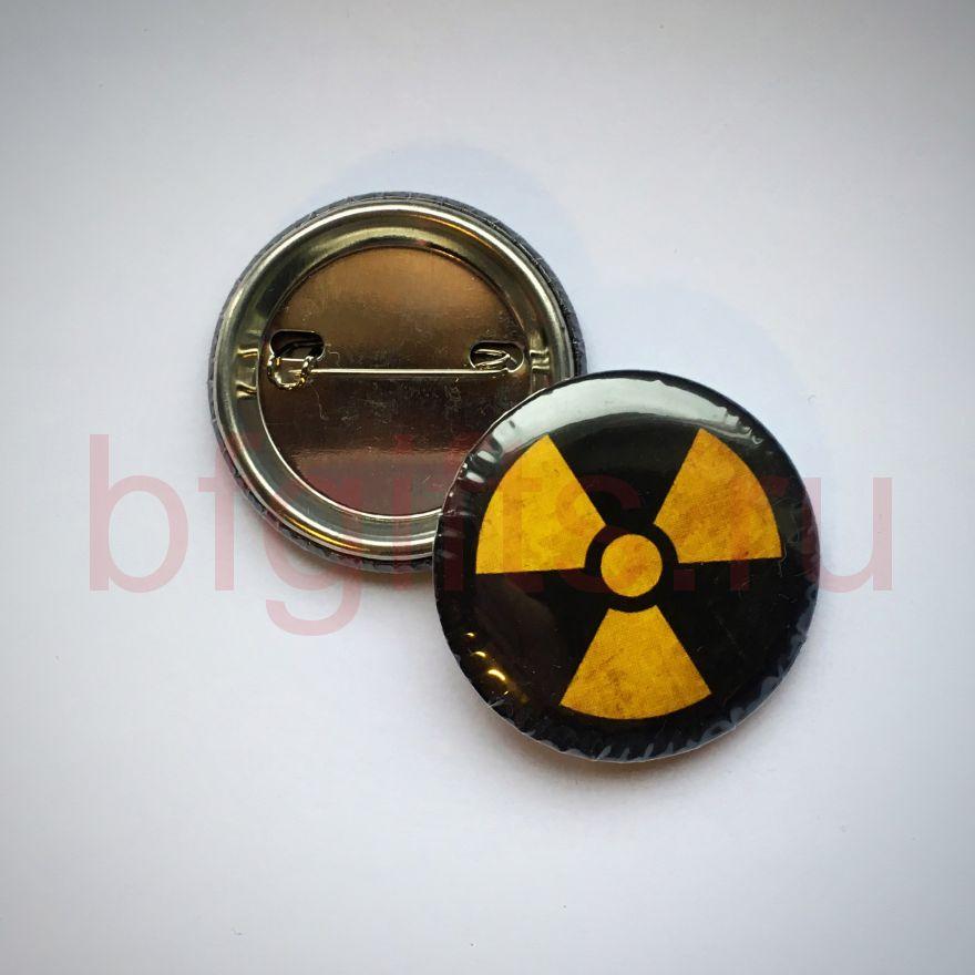 Значок Радиации