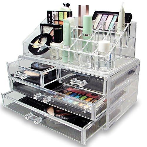 Акриловый органайзер для косметики Cosmetic Storage Box (4-5-6 ящичков)