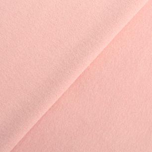 Лоскут трикотажной ткани - Фланель розовая 50х38