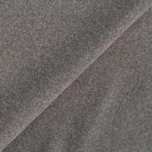 Лоскут трикотажной ткани - Фланель серая 50х38