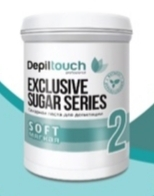 Сахарная паста Depiltouch professional Exclusive sugar series Мягкая №2 800 г.