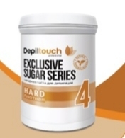 Сахарная паста Depiltouch professional Exclusive sugar series Плотная №4 800 г.