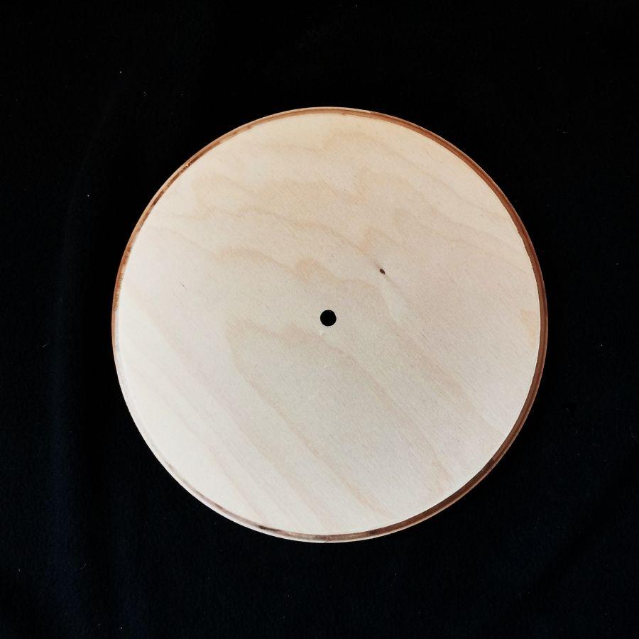 Заготовка для декупажа под часы, диаметр 25 см