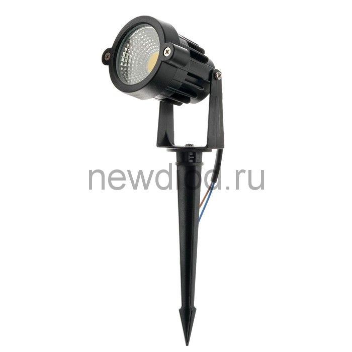 Светильник светодиодный грунтовый 5 Вт, 450 Лм, IP65, 3000 К , 220 В